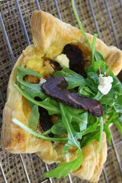 south african heritage day recipes - biltong tartlets