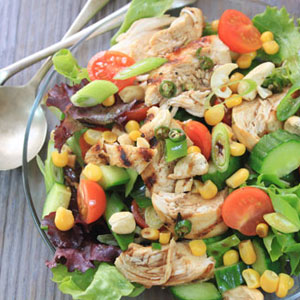 Asian-Style- chicken Salad