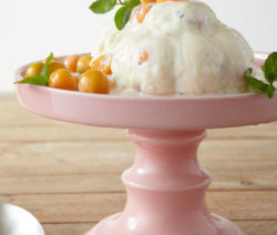 mint & gooseberry ice-cream