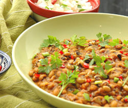 Curry Beans Recipe