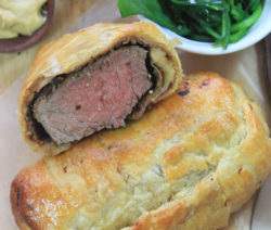 Beef Wellingtons with Wilted Spinach