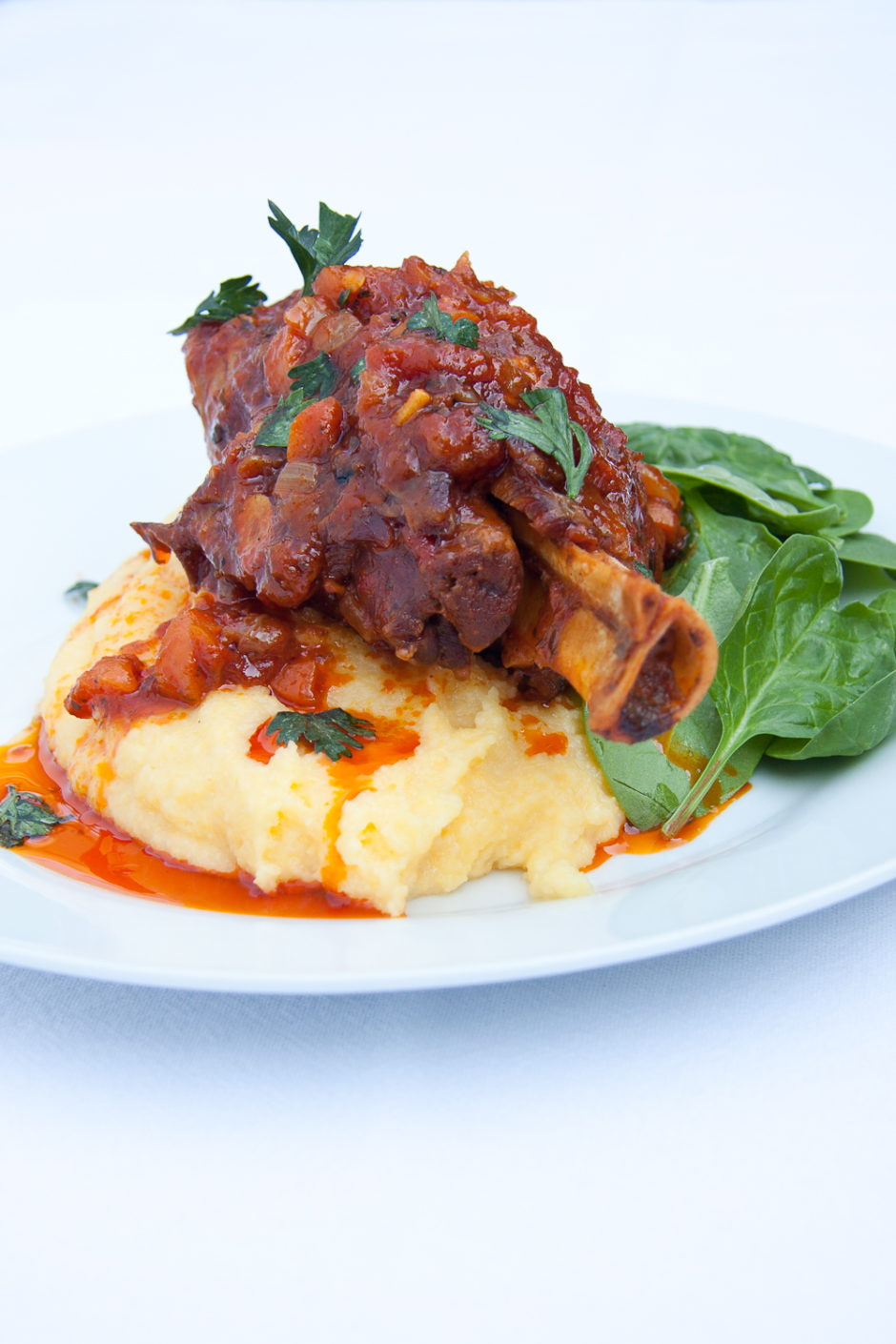 how to cook a lamb shank in the oven fast
