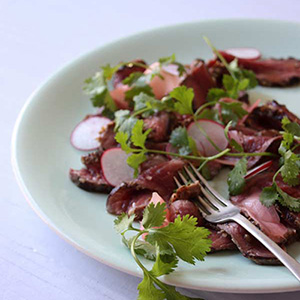 Seared-Ostrich-Carpaccio