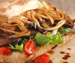 Leftover-lamb Sandwich