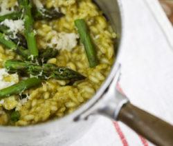 Asparagus and Pecorino Risotto