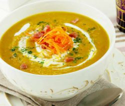 Carrot and Red Lentil Soup with a hint of Cumin