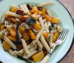 Penne with Roasted Butternut and Sage