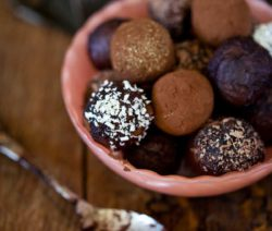 Chocolate Truffles with a Kiss of Orange-flavoured Armagnac