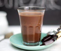 Orange and Dark Hot Chocolate