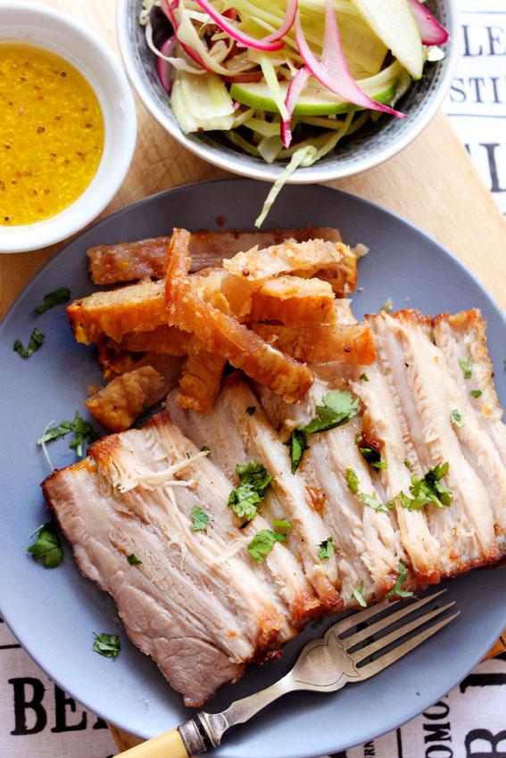 Fennel pork belly recipe