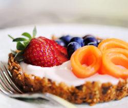 Crunchy Granola Breakfast Tart