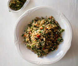 Cauliflower 'Couscous' with Pistou