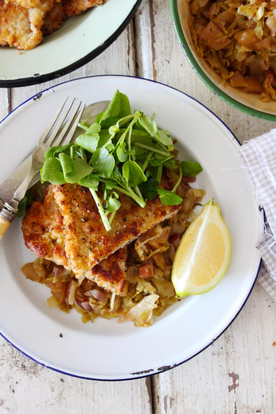Lemon and Thyme Pork Schnitzel
