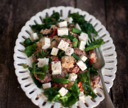 Warm Chorizo and Couscous Salad
