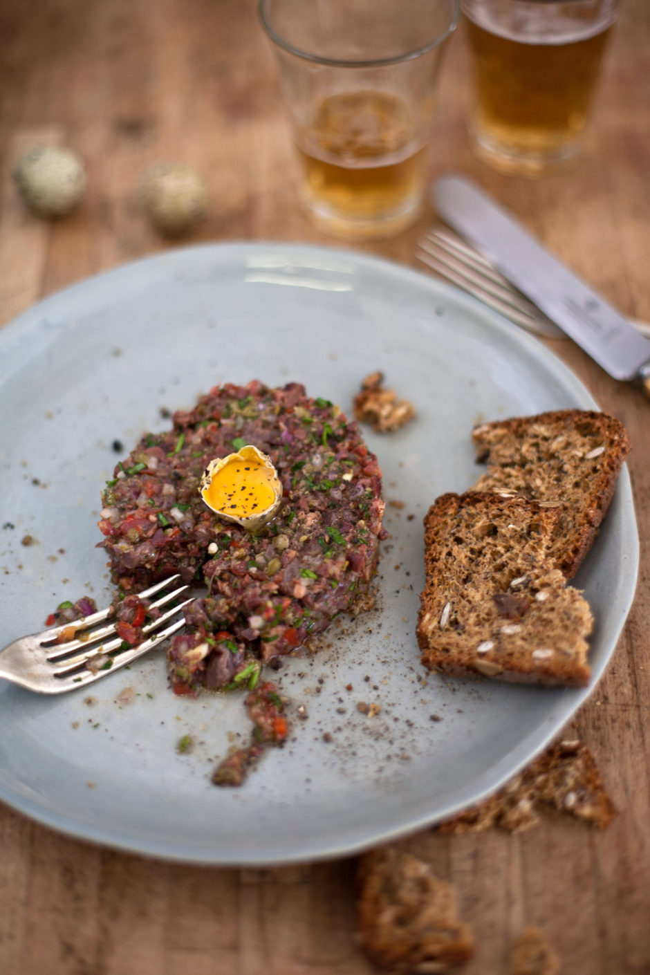 duck heart tartare recipe