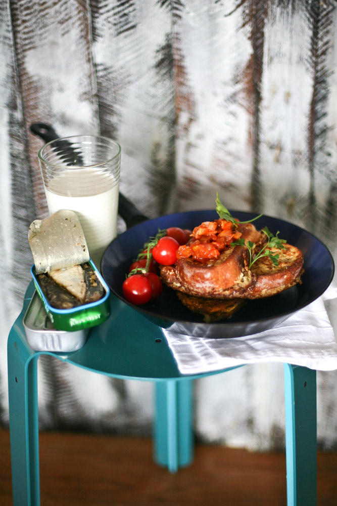 French Toast Tomato and Ginger Relish Recipe