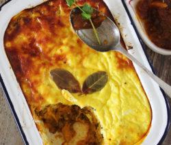 Lentil and Vegetable Bobotie