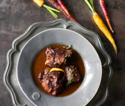 Oxtail in Chai
