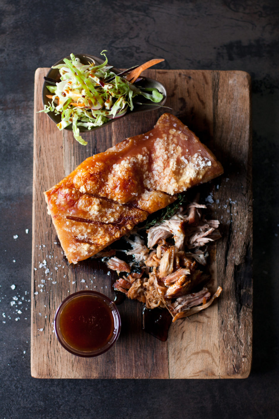 Pulled Pork with Sticky Plum Sauce