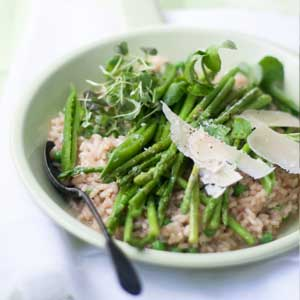 Asparagus-and-Pea-Risotto