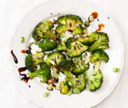 Roasted Broccoli with Sesame Oil