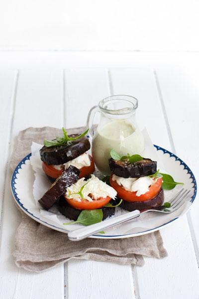 hamburger recipe aubergine burger