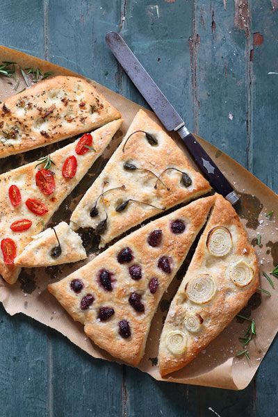 Bread Recipes - Focaccias