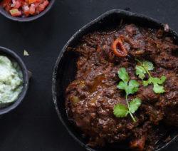 Lamb Shank Vindaloo Curry