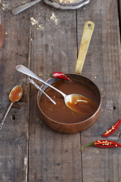 Vodka Chilli Butterscotch Sauce