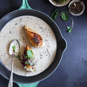 Chicken Au Poivre