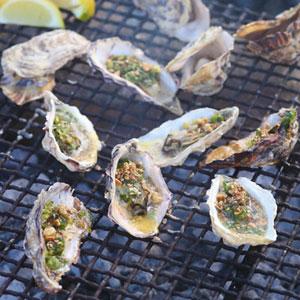 oyster on the braai