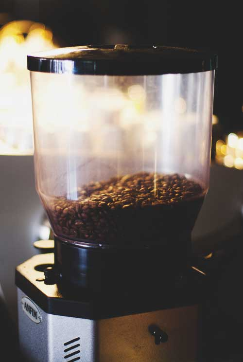 Check the grinding of the coffee beans. The essential guide to spotting a bad coffee by David Donde of Truth Coffee in Cape Town