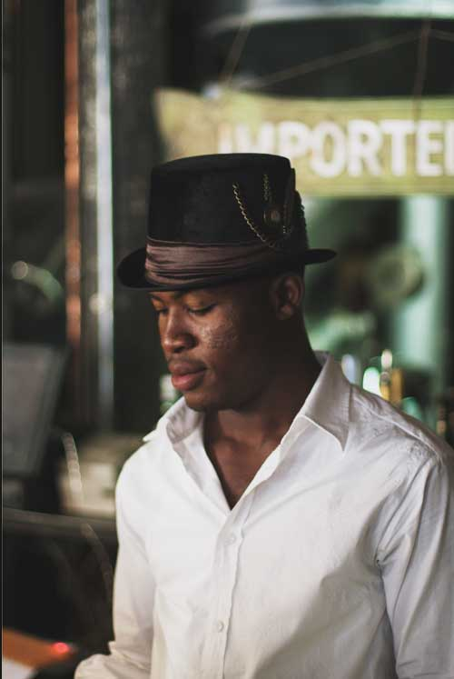 A barista from Truth Coffee in Cape Town
