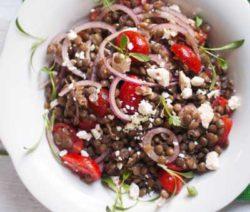 Black-Lentil,-Feta,-Tomato-and-Coriander-Salad