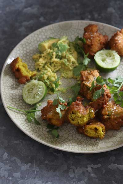 Indian Curry Recipes Broccoli chickpea bhajis