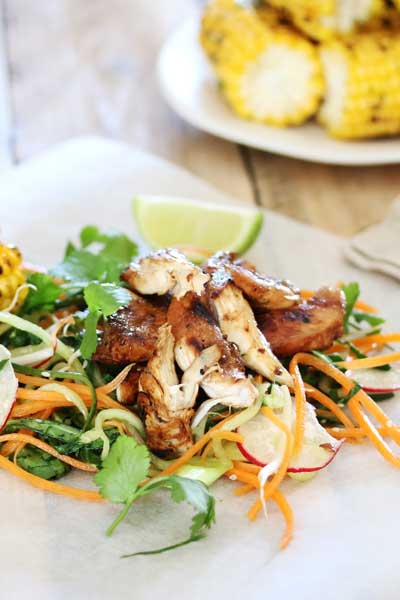Lime & Soy Chicken, Crush Magazine