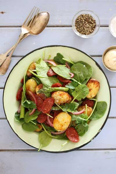 Potato & Chorizo Salad