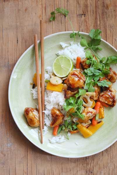 types of Asian cuisine - Sweet sour pork