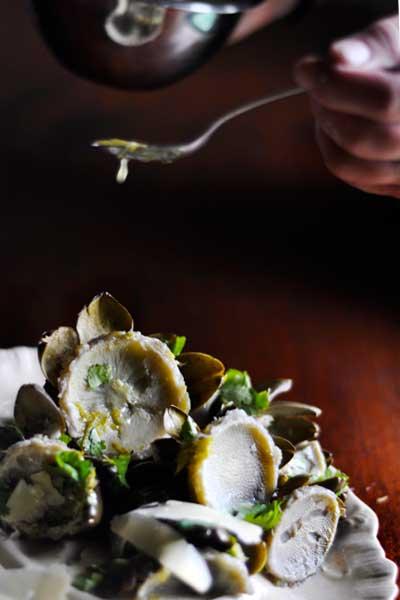 Artichoke Hearts with Lemon Vinaigrette