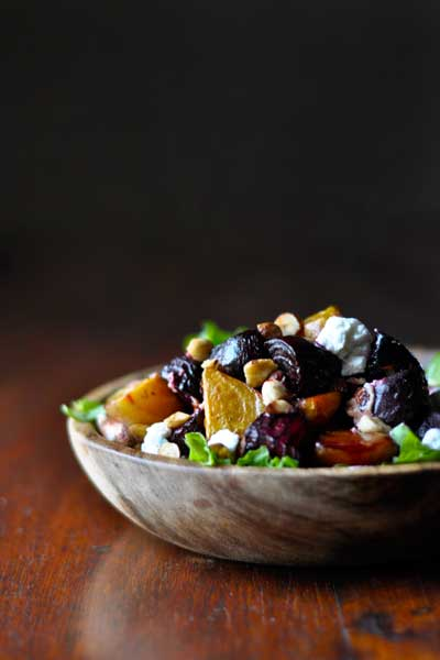 Best Braai Salads Beetroot Chevin & Hazelnut Salad