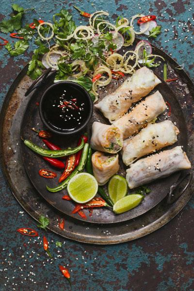 Best Asian Recipes - Duck Popiah