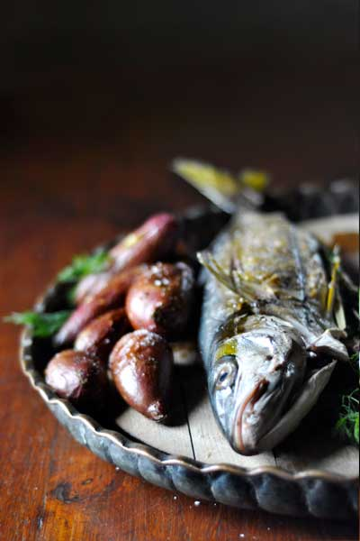 healthy fish recipes -whole-braaied-yellowtail
