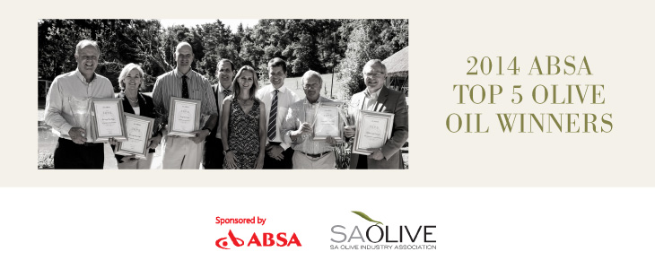 SA Olive Oil Top 5 for 2014