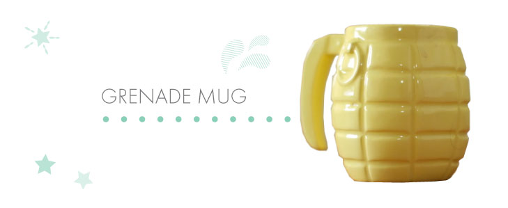 Grenade-mug