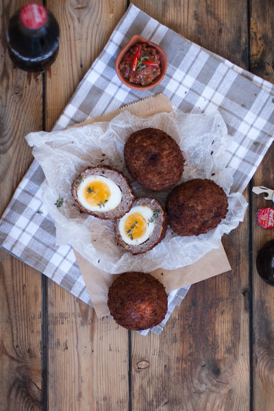 south african heritage day recipes - boerewors scotch eggs