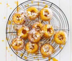 mini orange and almond bundt