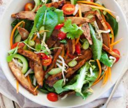 Asian Quorn Salad