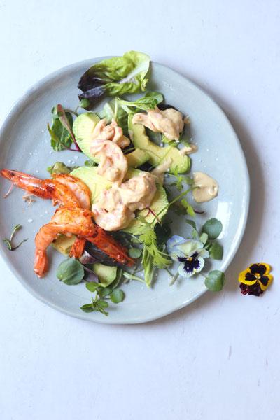 Avocado & Prawn Cocktail Salad Recipe