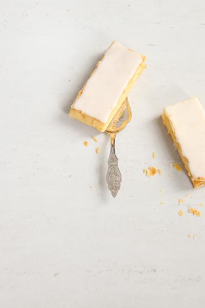 Vanilla Bean Custard Slice