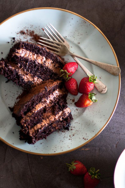 It's all things chocolate with this Chocolate Mousse Cake!